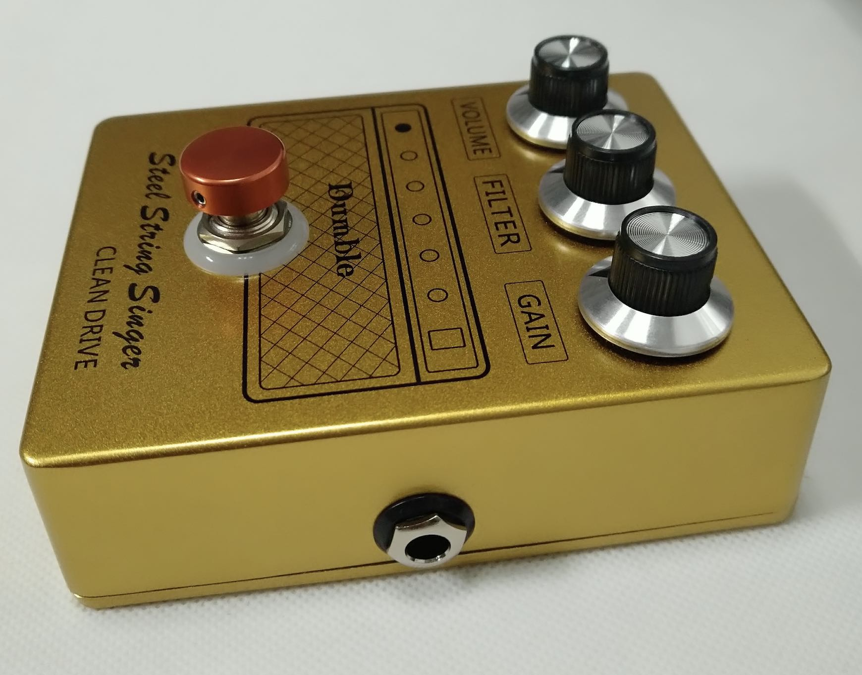 Grand Dumble SSS Steel String Clean Drive Pedal